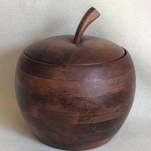 Baribocraft Wooden Apple Ice Bucket  Vintage